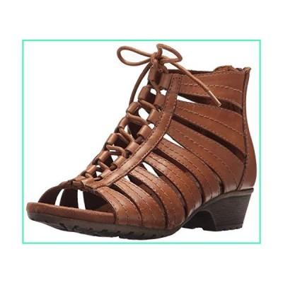 Rockport Cobb Hill Women's Gabby-CH Heeled Sandal, Tan, 7 M US並行輸入品