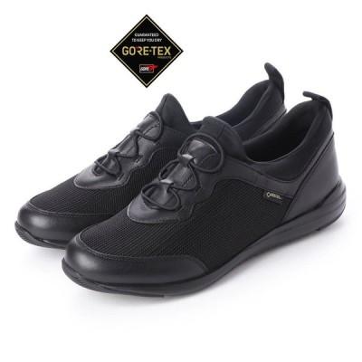 定価15,400円 madras Walk MWL1004 マドラスウォーク ゴアテックス GORE-TEX レディース 透湿防水 履き口伸縮 スニーカー 靴 ブラック