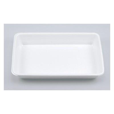 【50枚】VK-8 無地 本体 (ニ合折) 弁当 発泡 使い捨て 惣菜 トレー ランチ PSP ごはん容器 (本体のみ)50枚入
