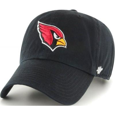 フォーティセブン 47 メンズ キャップ 帽子 ' Arizona Cardinals Clean Up Black Adjustable Hat