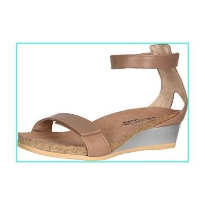 【新品】NAOT Footwear Women's Mermaid Wedge Arizona Tan Lthr 9 M US(並行輸入品)