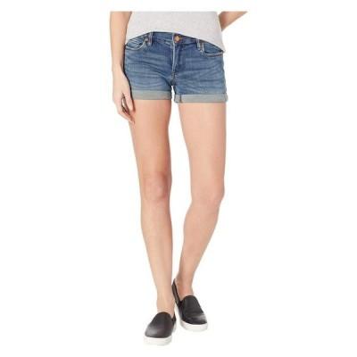 ブランクニューヨーク レディース ハーフパンツ・ショーツ ボトムス The Fulton Denim Roll Up Shorts in Blue Steel