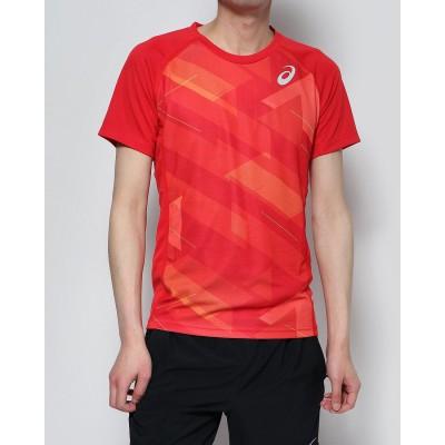 アシックス asics メンズ 陸上/ランニング 半袖Tシャツ グラフイツクシヨートスリーブトツプ 2091A159