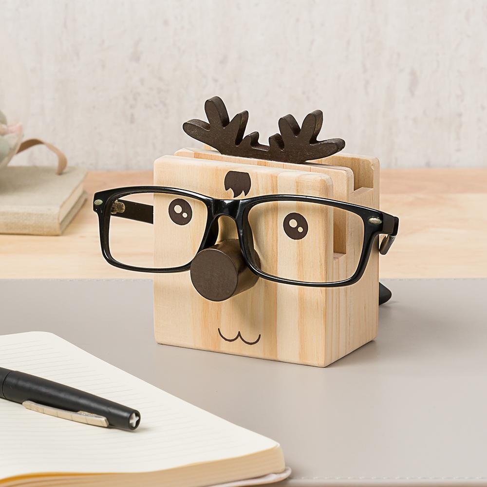 *多功能筆筒眼鏡架-小鹿