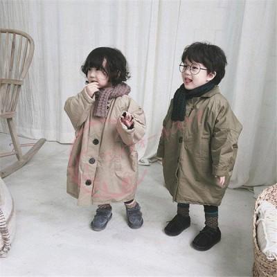 子供コート 韓国子供服 子ども服 アウター 中綿コート カジュアル  子供服 キッズ フォーマル 女の子 男の子 春秋 通学