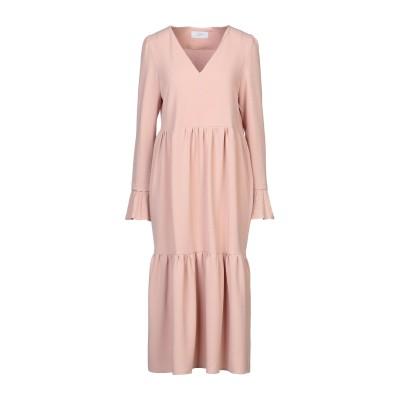 SOALLURE 7分丈ワンピース・ドレス ピンク 40 ポリエステル 95% / ポリウレタン 5% 7分丈ワンピース・ドレス