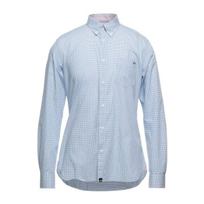 GAS シャツ ブルー S コットン 100% シャツ