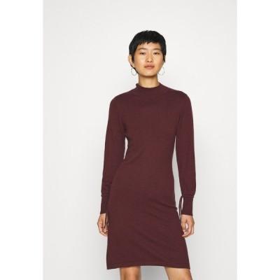 クリーム ワンピース レディース トップス BELLA DRESS - Jumper dress - decadent chocolate