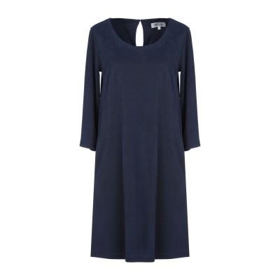 DRY LAKE. ミニワンピース&ドレス ダークブルー XS レーヨン 70% / ポリエステル 30% ミニワンピース&ドレス