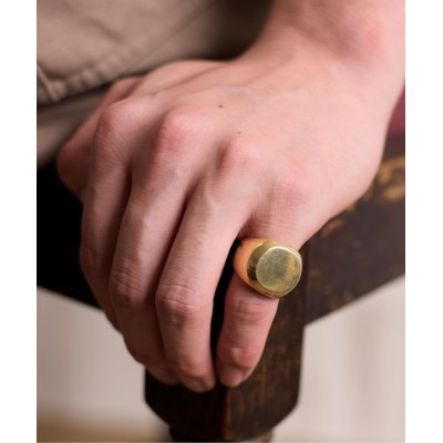 ability / ACE by morizane エース バイ モリザネ / chevalier ring 18K gold plated シュバリエ リング ゴールド プレート / AG920202GP MEN アクセサリー > リング