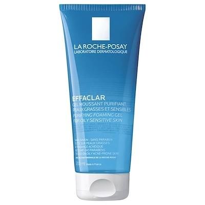ラロシュ布製 エファクラ 脂性肌のためのピュリファイングフォーミングジェルクレンザー 200ml/ La Roche-Posay Effaclar Purifying Foaming Gel