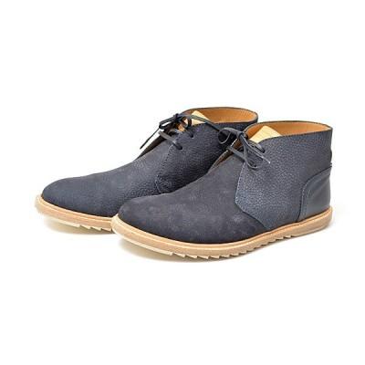 ルイヴィトン 靴 メンズ ショートブーツ ネイビー 約27.0cm スエード Louis Vuitton 中古