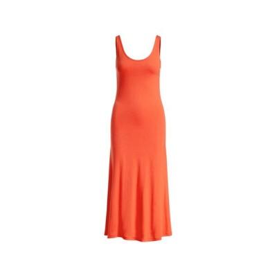 POLO RALPH LAUREN/ポロ ラルフ ローレン ジャージー スリーブレス ドレス 600レッド M