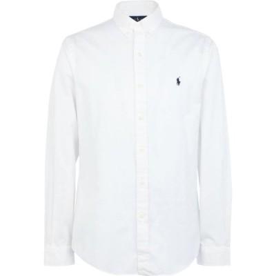 ラルフ ローレン POLO RALPH LAUREN メンズ シャツ トップス slim fit twill shirt White