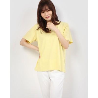 セブンデイズ サンデイ アウトレット SEVENDAYS=SUNDAY outlet クルーネックTシャツ (Light Yellow)