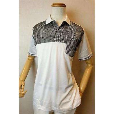 セール60%OFF ジーゲラン 半袖ポロシャツ ホワイト 春夏新作 メンズウェア GEEGELLAN