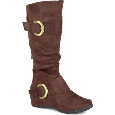 ジャーニーコレクション ブーツ&レインブーツ シューズ レディース Women's Jester-01 Boot Brown