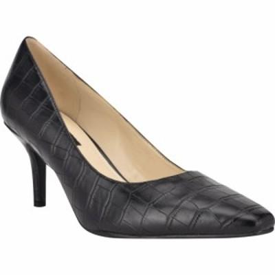 ナインウエスト NINE WEST レディース パンプス シューズ・靴 Abigal Pump Black Croco
