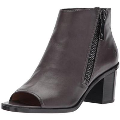 フライ レディース ブーツ FRYE Women's Brielle Zip Peep Bootie Boot