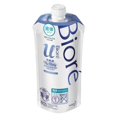 花王ビオレu ザ ボディ 液体タイプ ピュアリーサボンの香り 詰め替え 340ml ボディーソープ 花王