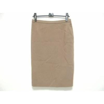 【BIG SALE対象】レリアン Leilian ロングスカート サイズ9 M レディース ブラウン【中古】20190809