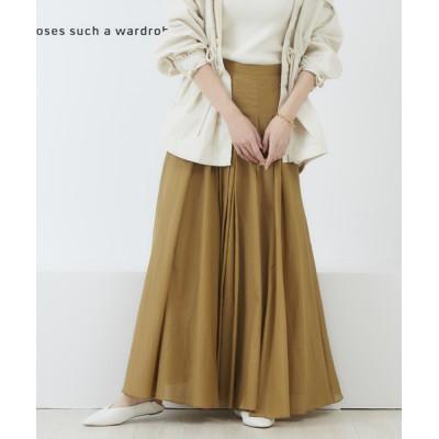 Rouge vif la cle / 2WAYサーキュラーマキシスカート WOMEN スカート > スカート