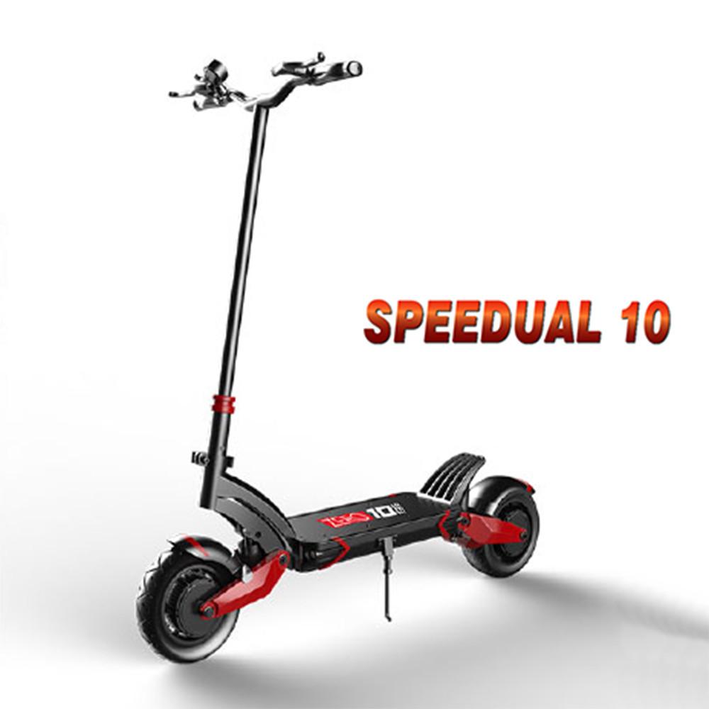 techone speedual 10 雙驅標準版 電動滑板車 越野成人代步車 折疊 雙充電孔