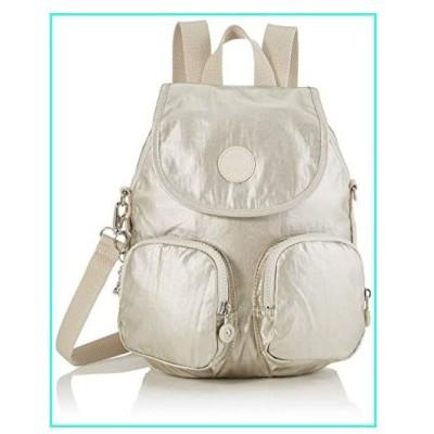 【新品】Kipling Backpack, Gold (Cloud Metal)(並行輸入品)