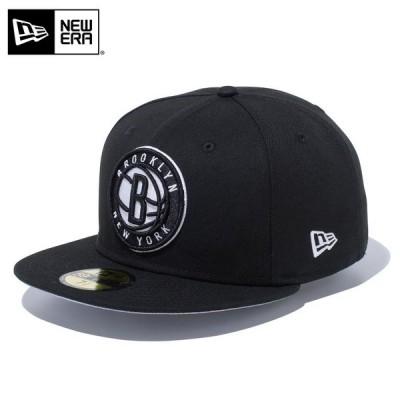 【メーカー取次】 NEW ERA ニューエラ 59FIFTY NBA ブルックリン・ネッツ ブラック 12492077 キャップ レディース 帽子 ブランド【クーポン対象外】【T】