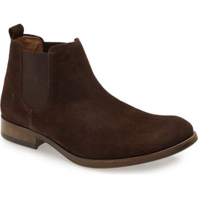 フライロンドン FLY LONDON メンズ ブーツ チェルシーブーツ シューズ・靴 Mezo Chelsea Boot Expresso Oil Suede