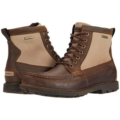 ロックポート Storm Surge Waterproof High Moc Boot メンズ ブーツ New Tan