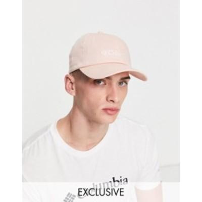 コロンビア メンズ 帽子 アクセサリー Columbia cap in pink - Exclusive to ASOS Pink
