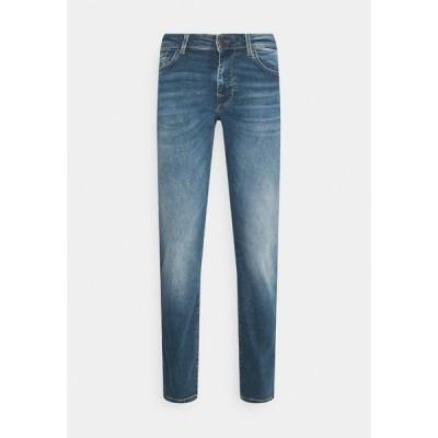 セレクテッドオム デニムパンツ メンズ ボトムス SLHSTRAIGHT SCOTT - Straight leg jeans - medium blue denim