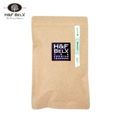 H&F BELX デカフェコーヒー 焙煎豆 ブラジル 150g [M便 1/3]