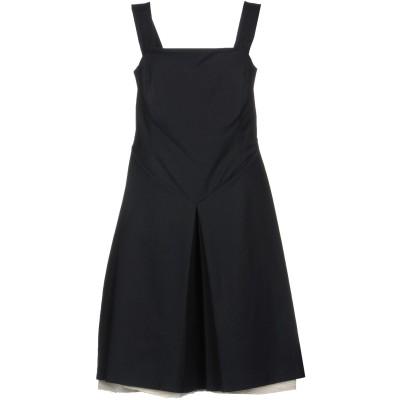BOULE DE NEIGE ミニワンピース&ドレス ダークブルー 48 96% コットン 4% ポリウレタン ミニワンピース&ドレス