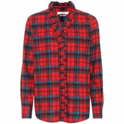 イザベル マラン Isabel Marant. Etoile レディース ブラウス・シャツ トップス Awendy cotton shirt Red