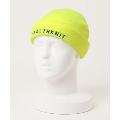nano・universe / Healthknit/:ロゴ刺繍 リブワッチ MEN 帽子 > ニットキャップ/ビーニー