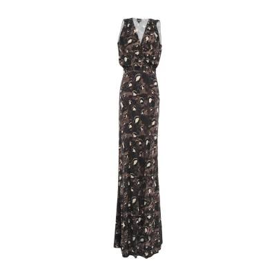 ジャストカヴァリ JUST CAVALLI ロングワンピース&ドレス スチールグレー 40 レーヨン 100% ロングワンピース&ドレス