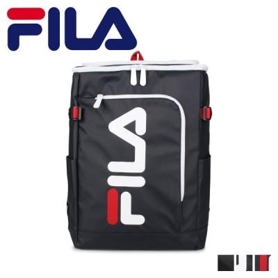 FILA フィラ リュック バッグ バックパック メンズ レディース 30L BAG PACK ブラック ネイビー 黒 7577
