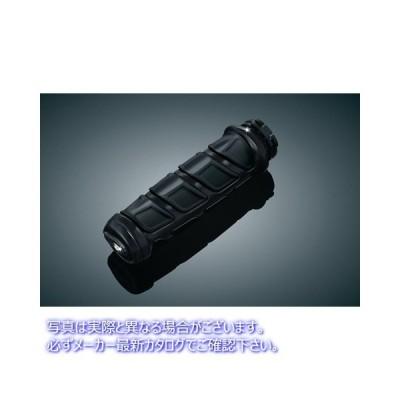 【取寄せ】  クリヤキン KURYAKYN 6376 Gloss Black Kinetic? Grips for Metric/Victory  06301662 ドラッグスペシャリティーズ