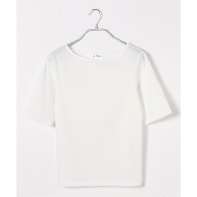 tシャツ Tシャツ リブカットソー5S 885041