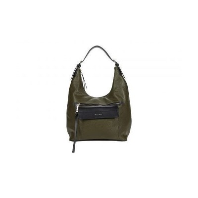 Tahari タハリ レディース 女性用 バッグ 鞄 ホーボー ハンドバッグ Utility Hobo - Olive/Black