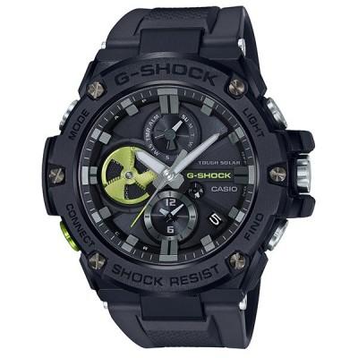 カシオ G-SHOCK  G-STEEL モバイルリンク機能 ソーラーメンズ腕時計  GST-B100B-1A3JF 新品 国内正規品