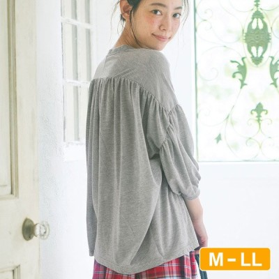 Ranan 袖ボリュームTシャツ  M レディース