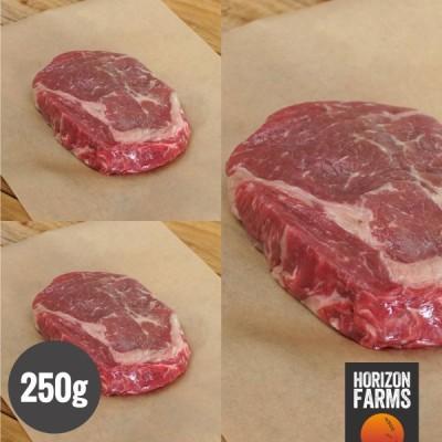 ニュージーランド産 最高品質 リブロースステーキ 250g×3 合計750g グラスフェッド グレインフィニッシュ ホルモン剤不使用 抗生物質不使用