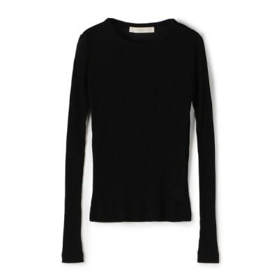 tシャツ Tシャツ ESTNATION / シースルーリブロングスリーブカットソー
