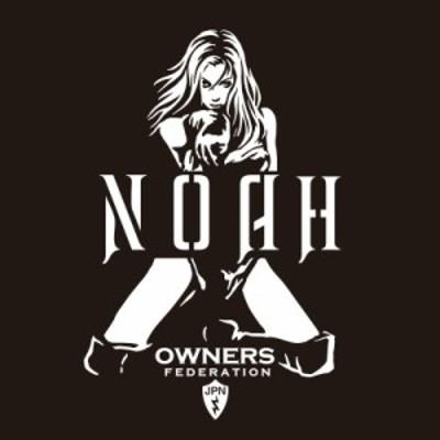 カッティングステッカー トヨタ(TOYOTA)ノア NOAH bondage 車 カー ステッカー アクセサリー シール ガラス[◆]