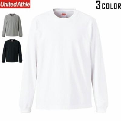 【T】【T2】【メーカー取次】United Athle ユナイテッドアスレ 7.1オンス ヘヴィーウェイト ロングスリーブ Tシャツ(1.6インチリブ)426