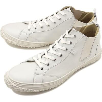 返品送料無料 スピングルムーブ SPINGLE MOVE スニーカー カンガルーレザー SPM-442 SPM442-82 SS20 メンズ・レディース 日本製 サイドゴア 靴 White White