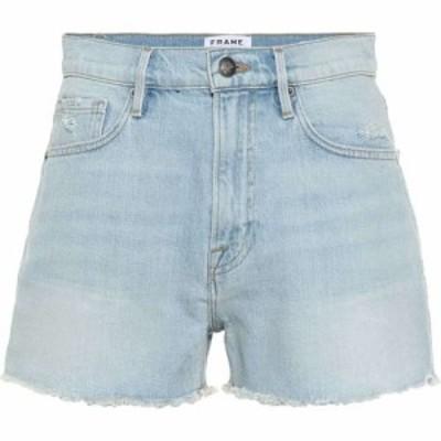 フレーム Frame レディース ショートパンツ デニム ボトムス・パンツ Le Vintage high-rise denim shorts Halen